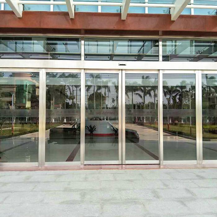 广州增城元美村-大翔集团玻璃自动门