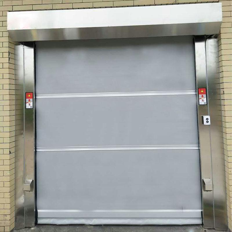 PVC自动卷帘门