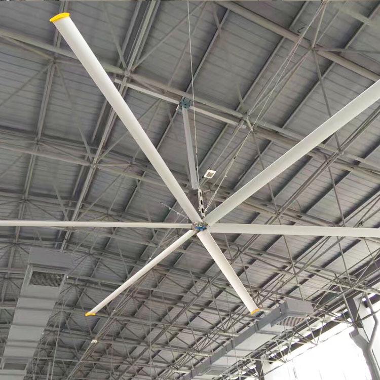 大型工业吊扇厂房车间体育馆通风降温永磁工业大风扇可安装