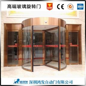 广州酒店玻璃旋转门