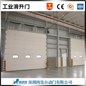 广州消防站自动滑升门