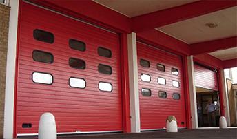 消防站滑升门